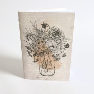 Illustrated Floral Notebook