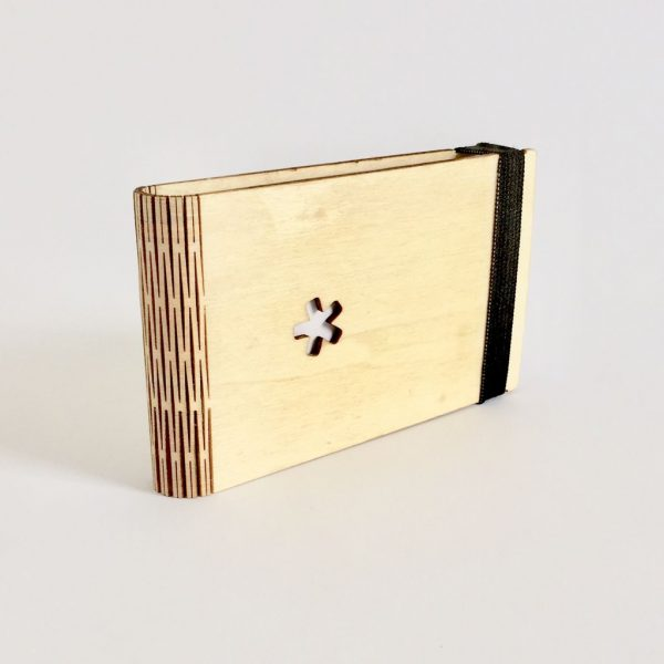 Wood Note Book