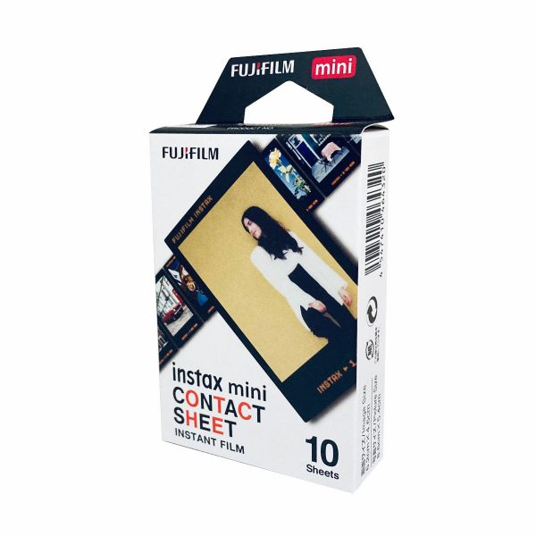 Fujifilm Instax Mini Instant Film Contact Sheet Pattern Film