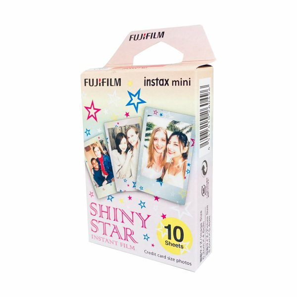 Fujifilm Instax Mini Instant Film Shiney Star Pattern Film