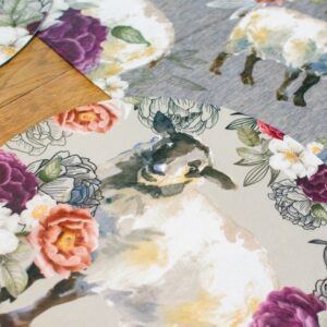Good Golly Mooerse Mooi Round Placemat Display