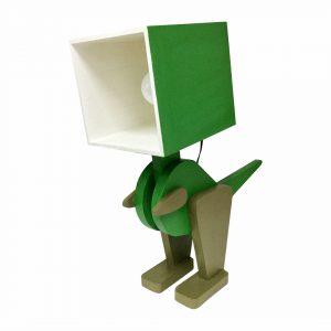 Good Golly Dinosaur Handmade Wooden Lamp for Kids Room Boys