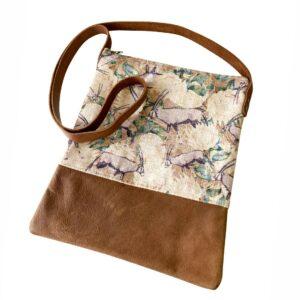 Good Golly Gemsbok and Protea Nambia Sling bag Leather Handbag