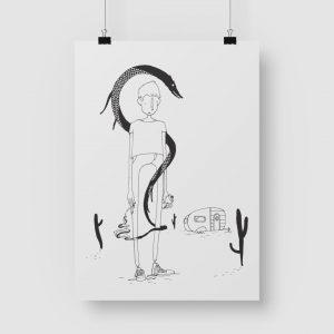 Good Golly Jurgens Walt Illustrations Art Print Trailer Dreams