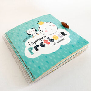 Good Golly Kikker en Kie Busy Book Rhymes Back Cover Toddler