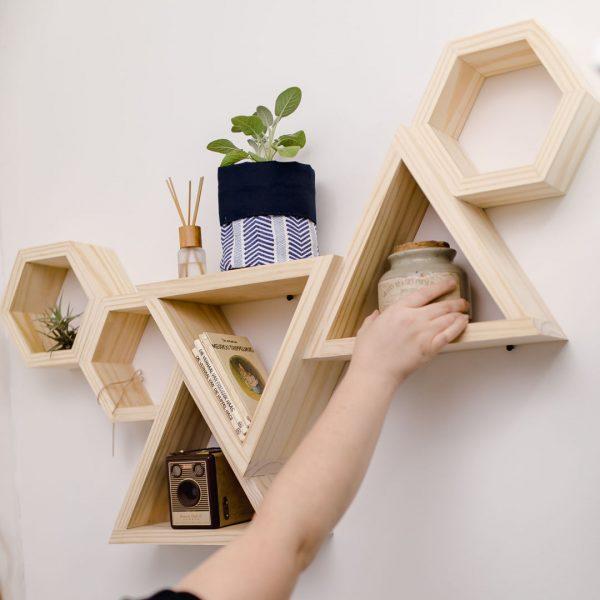Good Golly Large Shelf on display