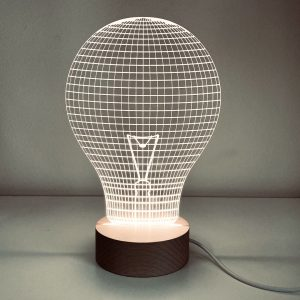 Good Golly Light Bulb USB Desk Light