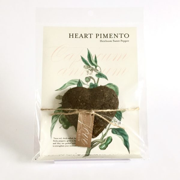 Good Golly Planting Chocolate Gift Heart Pimento Sweet Pepper Seed