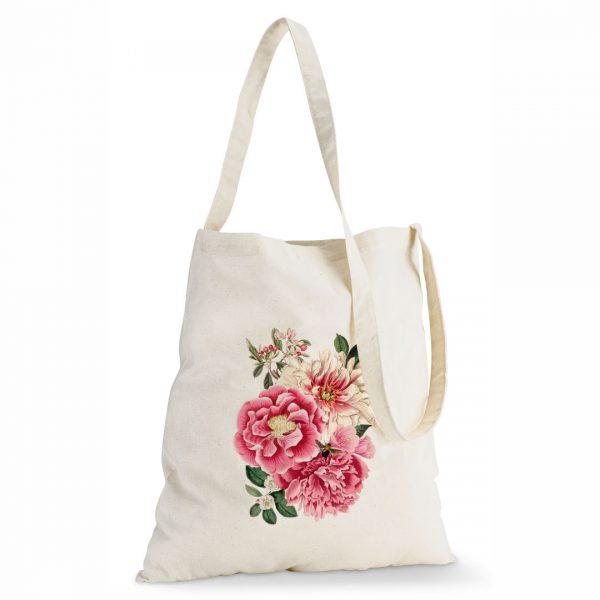 Good Golly Tote Sling Bag Cotton Floral design