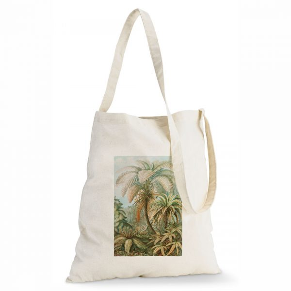 Good Golly Tote Sling Bag Tropical Cotton design